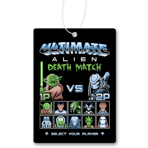 Alien Death Match Air Freshener
