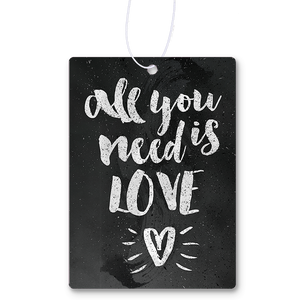 All You Need Is Love Air Freshener