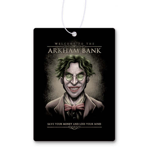 Arkham Bank Air Freshener