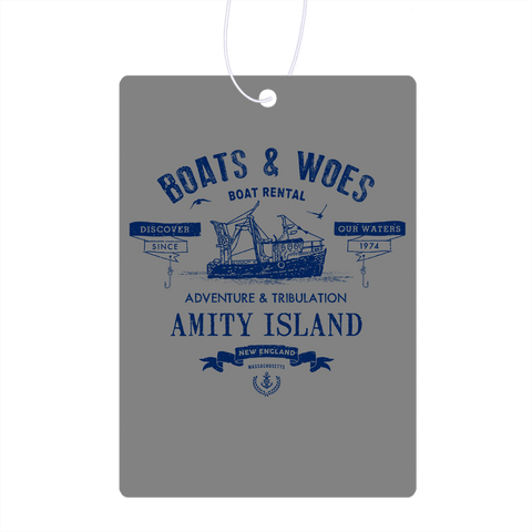 Boats & Woes Air Freshener