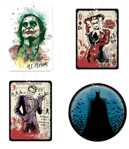 Batman Air Freshener 4 Pack