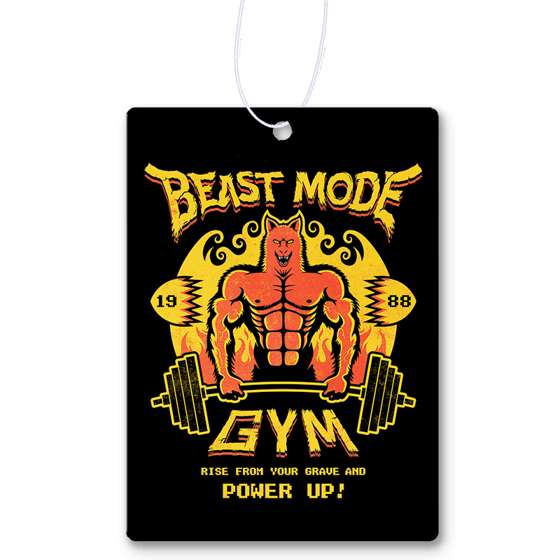 Beast Mode Gym Air Freshener