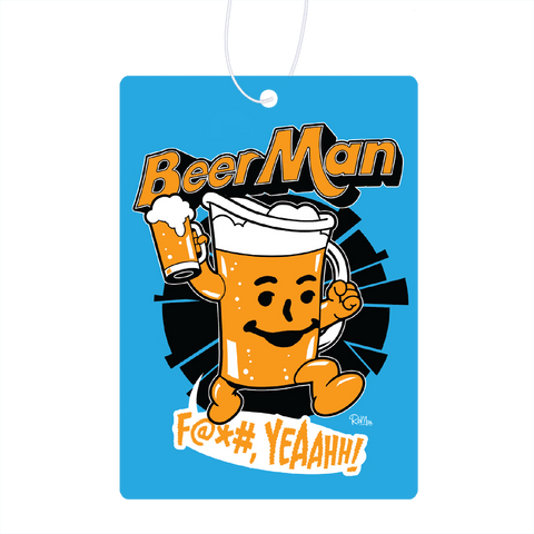 Beer Man Air Freshener