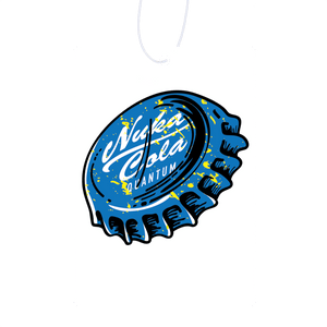 Blue Cap Air Freshener
