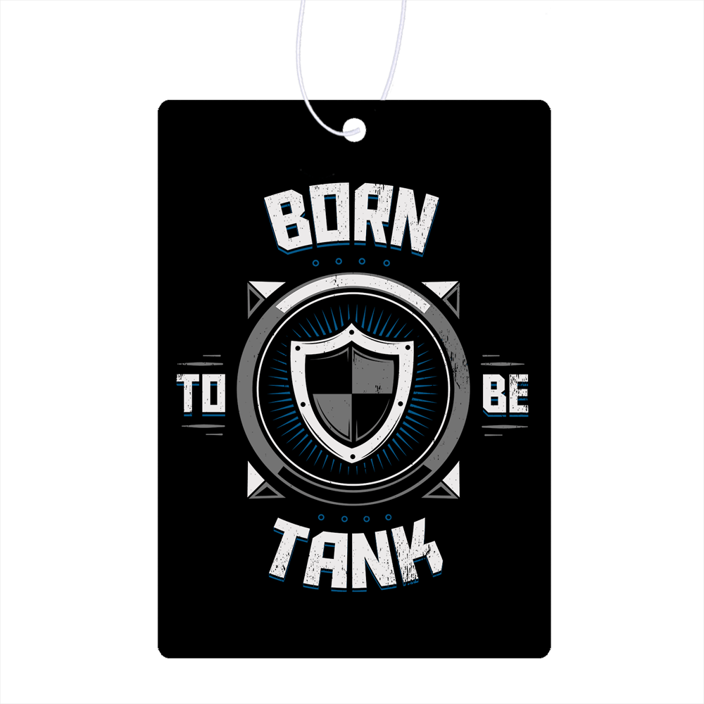 Born To Be Tank  Air Freshener