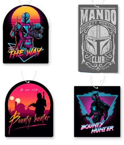 Bounty Hunter Air Freshener 4 Pack
