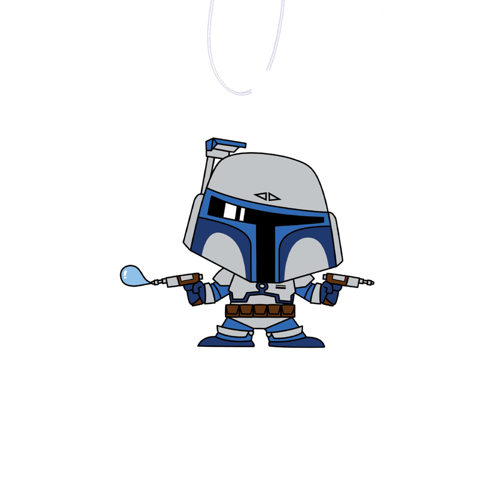 Bubble Jango Air Freshener