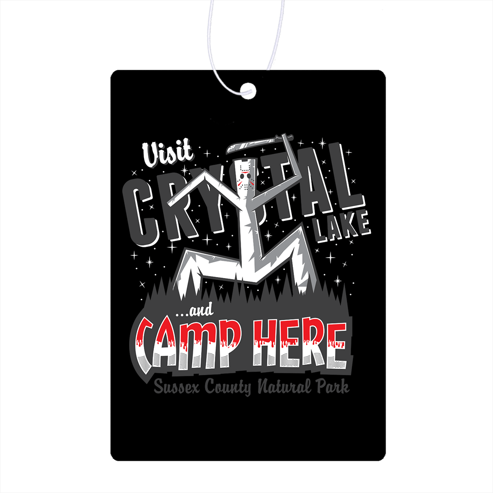 Camp Here Air Freshener