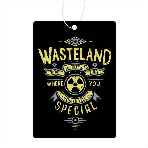 Come To Wasteland Air Freshener