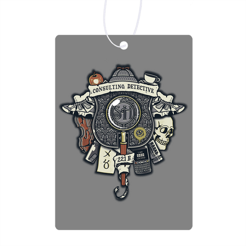 Consulting Detective Air Freshener