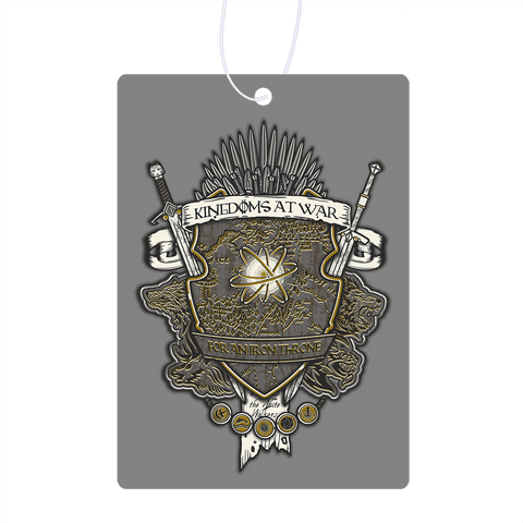 Crest Of Thrones Air Freshener