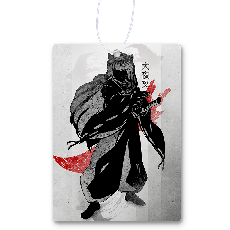 Crimson Inuyasha Air Freshener