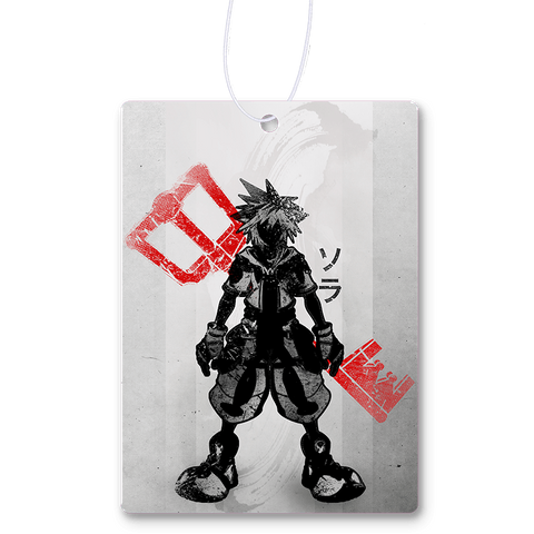 Crimson Keyblade Air Freshener