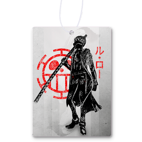 Crimson Pirate Law Air Freshener