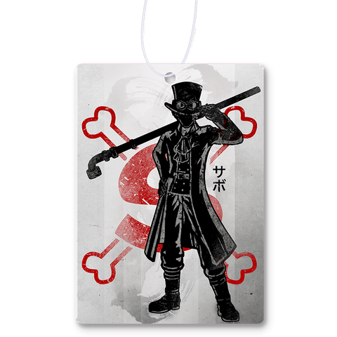 Crimson Sabo Air Freshener