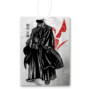 Crimson Komamura Air Freshener
