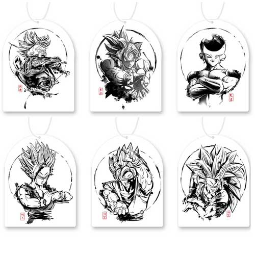 25 Dragon Ball Ink Air Freshener Set