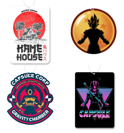 Dragon Ball Air Freshener 4 Pack