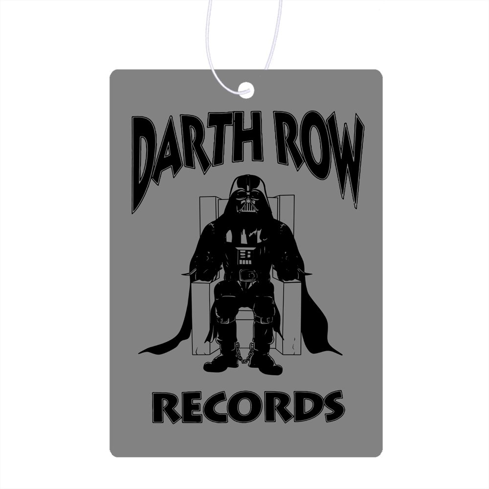 Darth Row Records Air Freshener