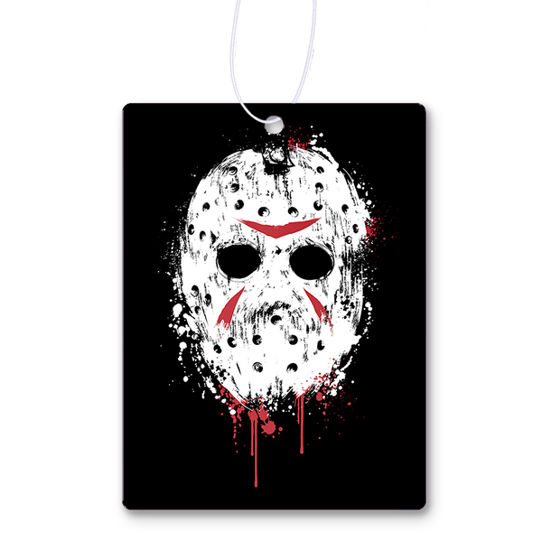 Death Behind The Mask Air Freshener