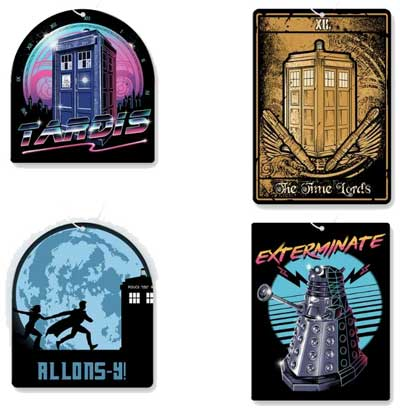 Doctor Who Air Freshener 4 Pack
