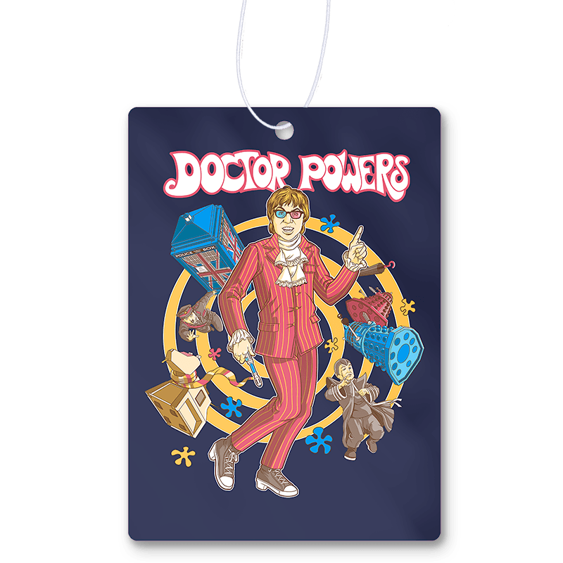 Doctor Powers Air Freshener