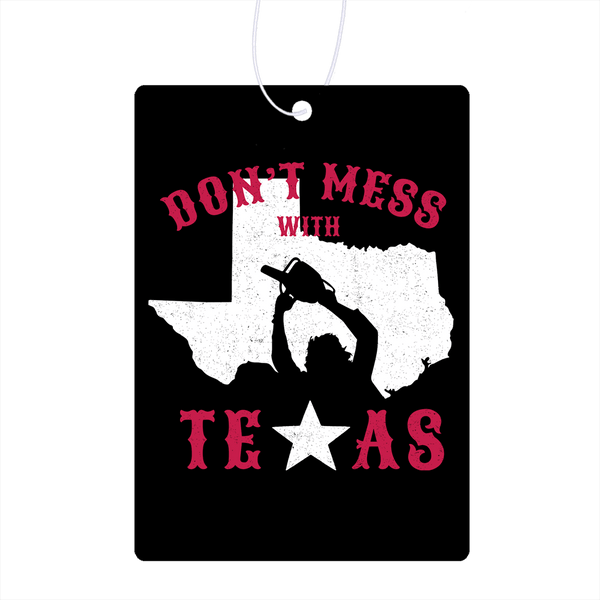 Don't Mess With Texas Air Freshener