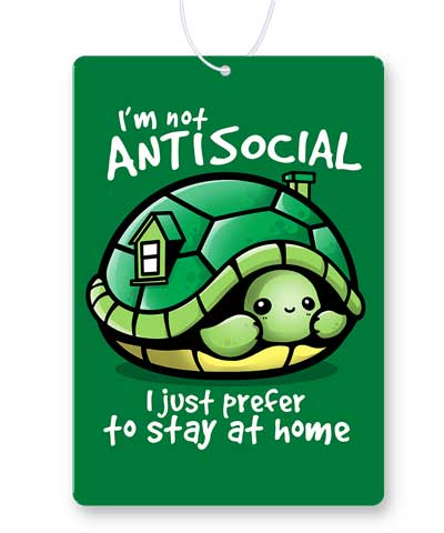 Antisocial Turtle Air Freshener