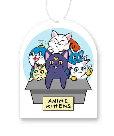 Anime Kittens Air Freshener