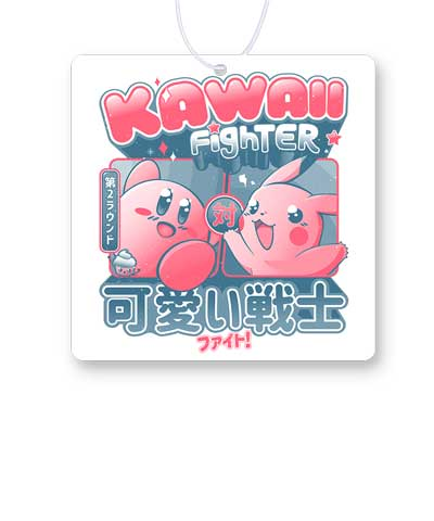 Kawaii Fighter 2 Air Freshener