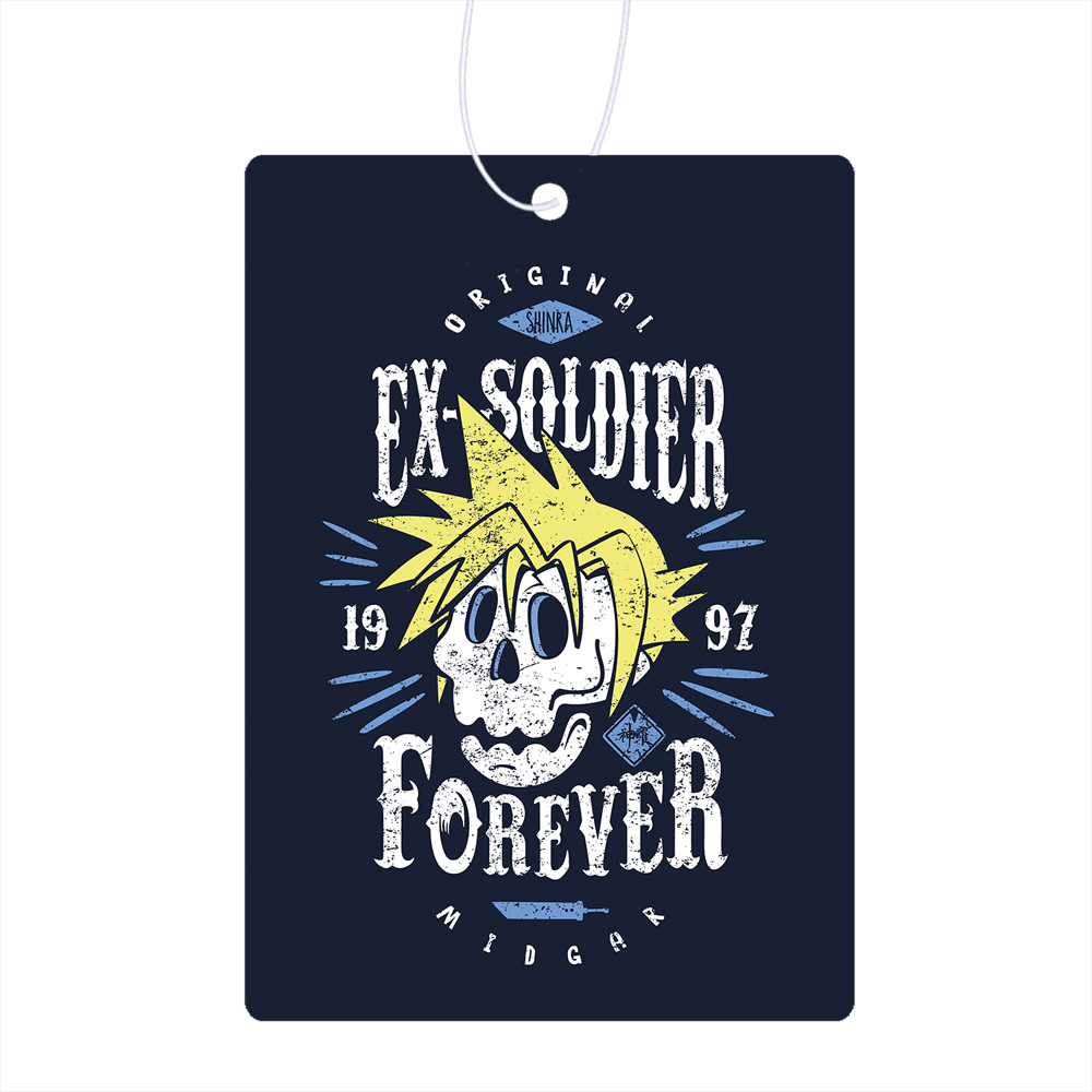 Ex-Soldier Forever Air Freshener