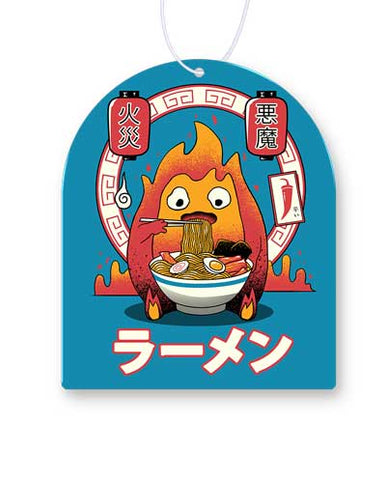Fire Demon Ramen Air Freshener