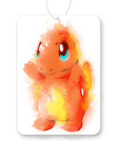 Fire Watercolor Air Freshener
