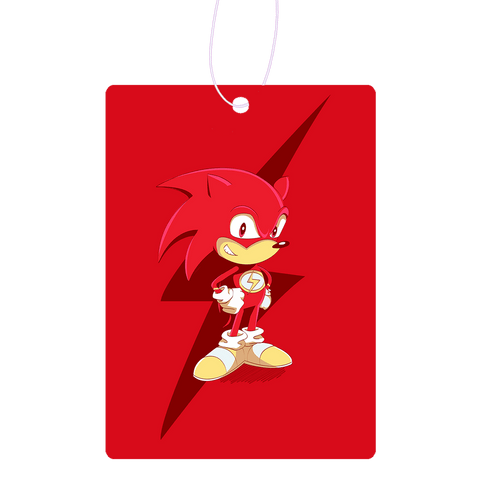 Flash The Hedgehog Air Freshener