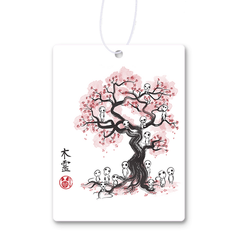 Forest Spirit Sumi-e Air Freshener