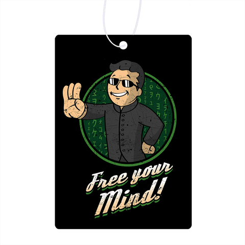 Free Your Mind Air Freshener
