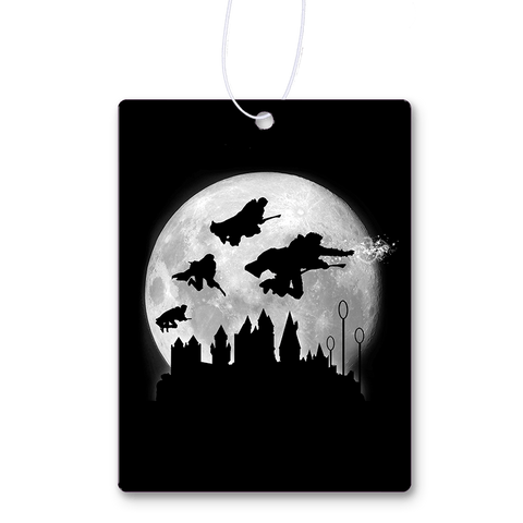 Full Moon Over Hogwarts Air Freshener