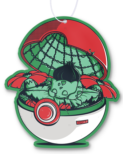 Green Pokehouse Air Freshener