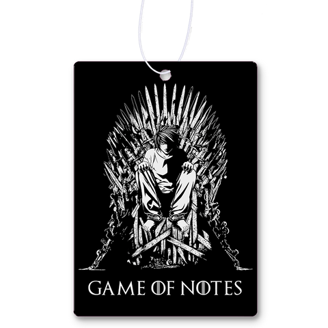 Game Of Notes Air Freshener