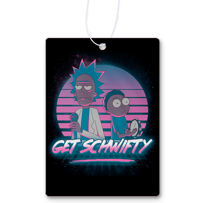 Rick and Morty Air Fresheners