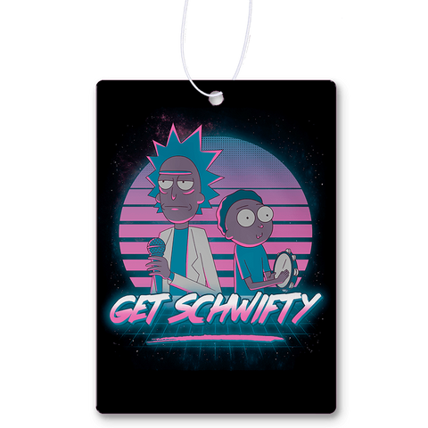Get Schwifty Air Freshener
