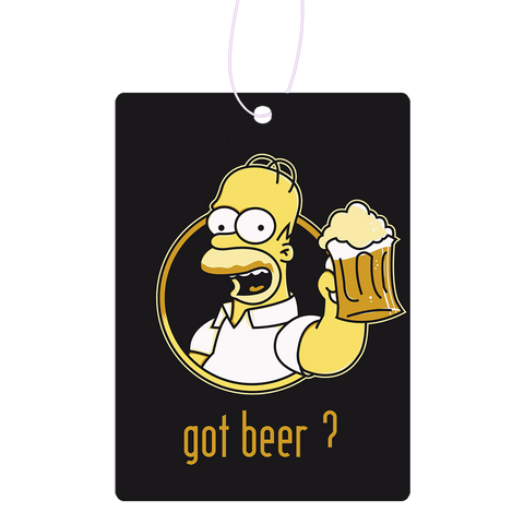 Got Beer Homer Air Freshener