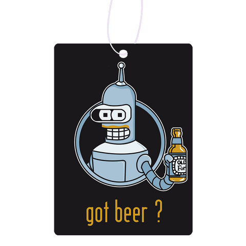 Got Beer Robot Air Freshener