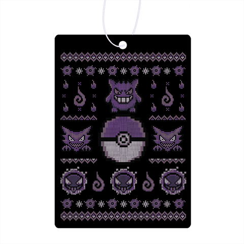 Gotta Stitch 'Em All Ghost Air Freshener