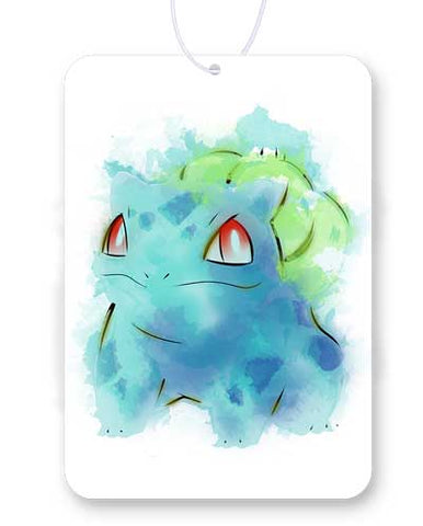 Grass Poison Watercolor Air Freshener