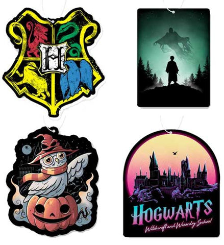 Harry Potter Air Freshener 4 Pack