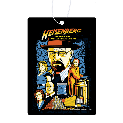 Heisenberg And The Empire Of The Crystal Meth Air Freshener