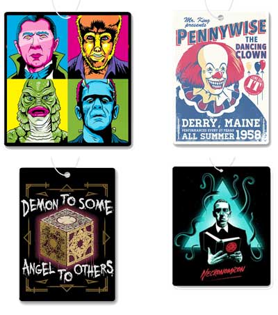 Horror Air Freshener 4 Pack #3