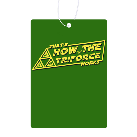 How Triforce Works Air Freshener