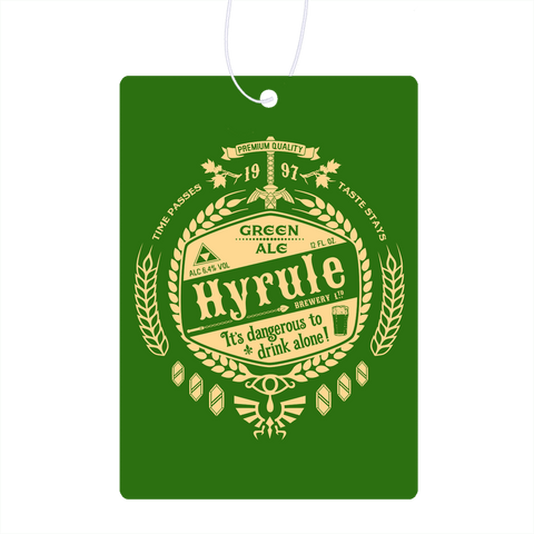 Hyrule Green Ale Air Freshener